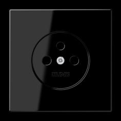 Enjoliveur prise 2P+T noir...