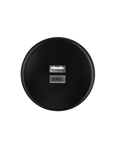 Plaque 1 poste prise USB...